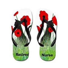 Retired Nurse Ff Flip Flops