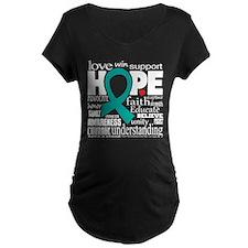 Cervical Cancer Words T-Shirt