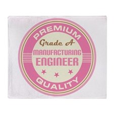 Premium quality Manufacturing engineer Throw Blank