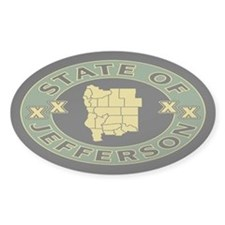 XX State of Jefferson XX Decal