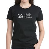 SGH Logo Women's Black T-Shirt