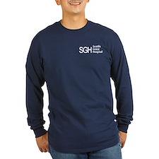 SGH Logo Long Sleeve Navy Blue T-Shirt