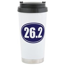 26.2 blue oval Ceramic Travel Mug