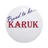 Karuk Ornament (Round)