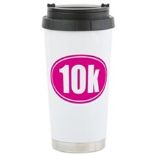 10k pink oval Ceramic Travel Mug