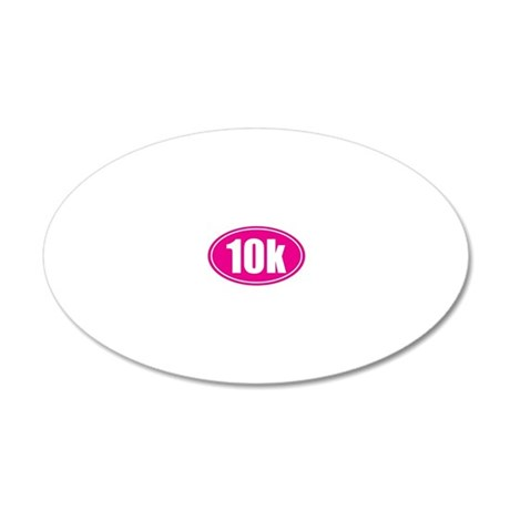 10k pink oval 20x12 Oval Wall Decal