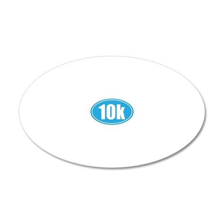 10k light blue oval 20x12 Oval Wall Decal