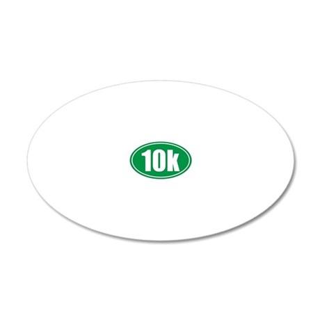 10k green oval 20x12 Oval Wall Decal