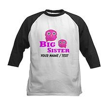 Custom Big Sister Owl Baseball Jersey