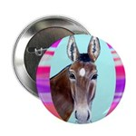 Horses and Mules Button