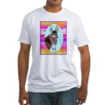 Horses and Mules Fitted T-Shirt
