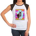 Horses and Mules Women's Cap Sleeve T-Shirt