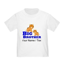 Custom Big Brother Tiger T-Shirt