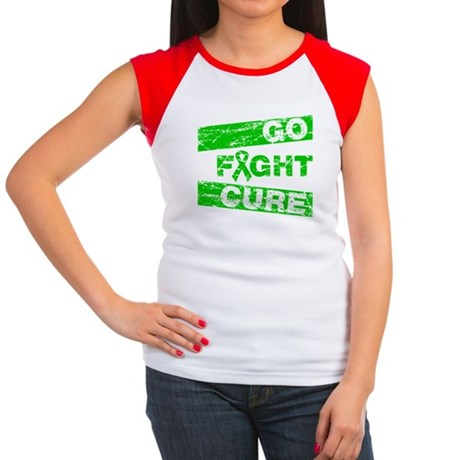 Cerebral Palsy Go Fight Cure Women's Cap Sleeve T-