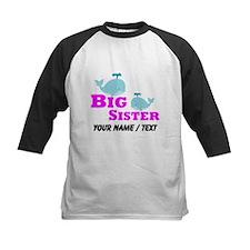 Custom Big Sister Whale Baseball Jersey