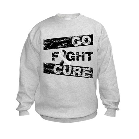 Carcinoid Cancer Go Fight Cure Kids Sweatshirt