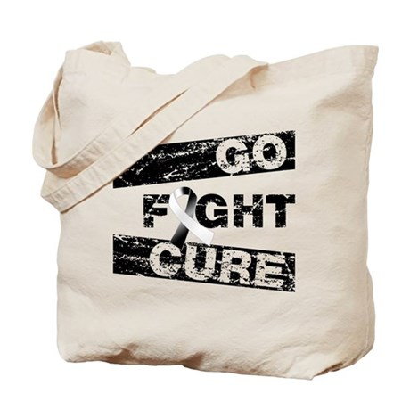 Carcinoid Cancer Go Fight Cure Tote Bag