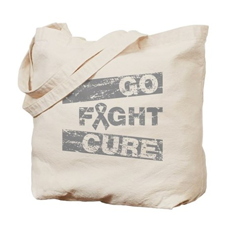 Brain Cancer Go Fight Cure Tote Bag