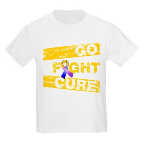 Bladder Cancer Go Fight Cure Kids Light T-Shirt