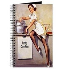 Vintage Nurse Pinup Journal