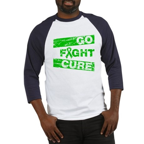 Bile Duct Cancer Go Fight Cure Baseball Jersey