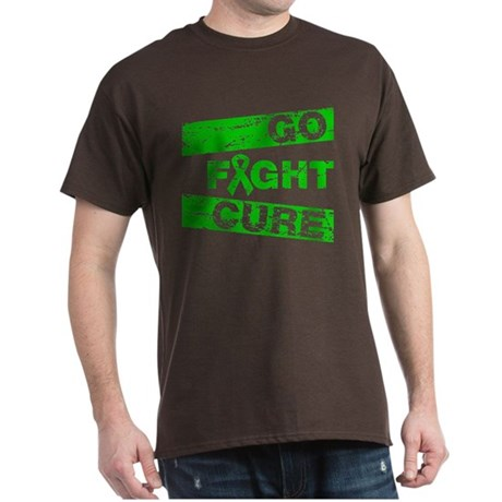 Bile Duct Cancer Go Fight Cure Dark T-Shirt