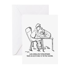 Tracing Your Roots Way Way Back Greeting Cards (Pk