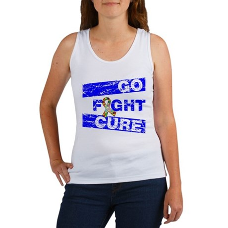 Autism Go Fight Cure Women's Tank Top