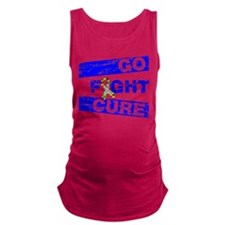 Autism Go Fight Cure Maternity Tank Top