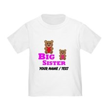Custom Big Sister Teddy Bear T-Shirt