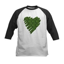 Green Leaves Heart Tee