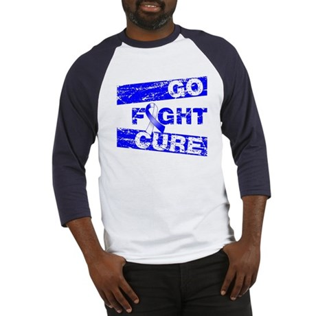 ALS Go Fight Cure Baseball Jersey