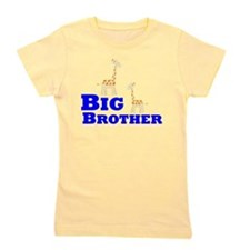 Big Brother Giraffe Girl's Tee