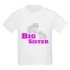 Big Sister Hippo T-Shirt