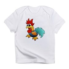 Cartoon Rooster Infant T-Shirt