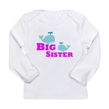Big Sister Whale Long Sleeve T-Shirt