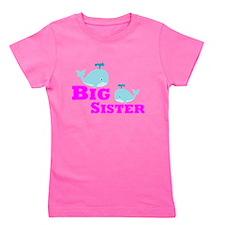 Big Sister Whale Girl's Tee