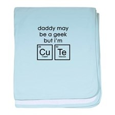 CuTe Periodic Table baby blanket
