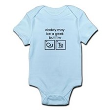 CuTe Periodic Table Infant Bodysuit
