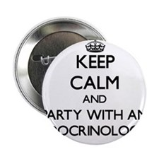 Keep Calm and Party With an Endocrinologist 2.25""