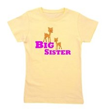 Big Sister Deer Girl's Tee