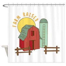 Farm Raised Shower Curtain