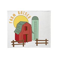 Farm Raised Throw Blanket