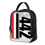 olds442.png Neoprene Lunch Bag