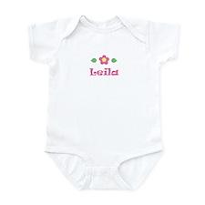 "Pink Daisy - ""Leila"" Infant Bodysuit"