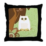 Snowy Owl - Throw Pillow