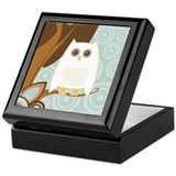 Snowy Owl - Keepsake Box