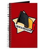 """Belgium Star Flag"" Journal"
