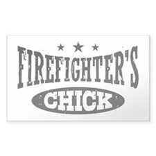 Firefighter's Chick Decal