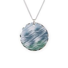 Abstract Sky blue Necklace